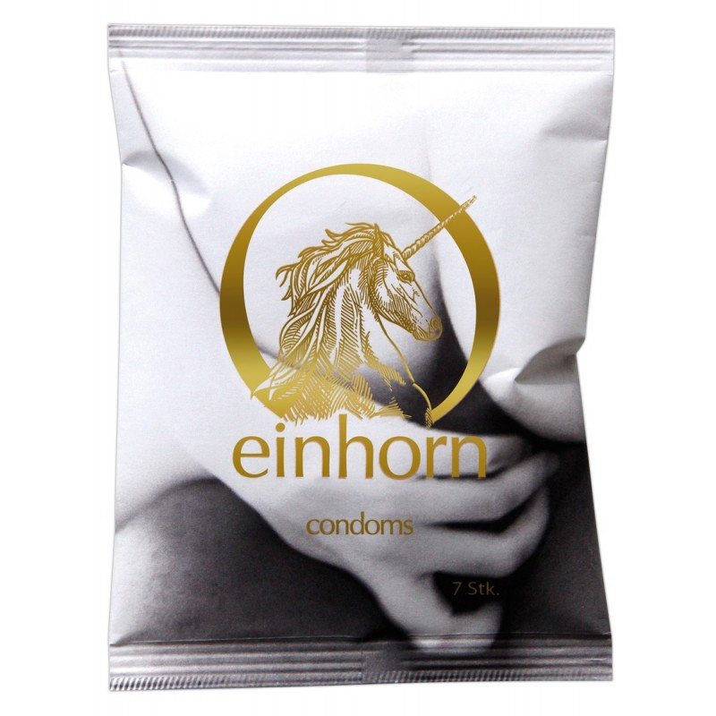 Einhorn Make Some Love - Profilattici Vegan Ecosostenibili