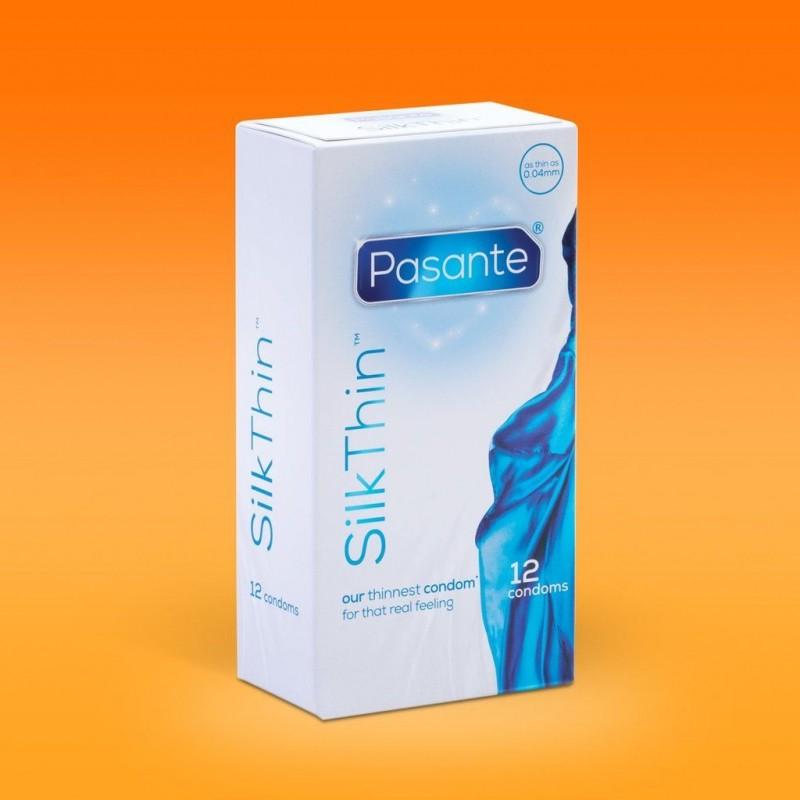 Preservativi Pasante Silk Thin Profilattici Ultra Sottili
