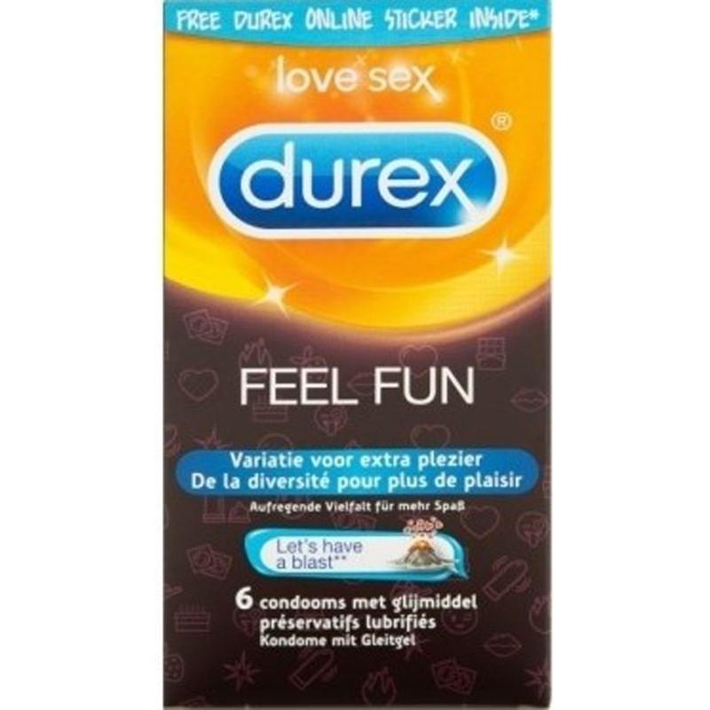 Preservativi Durex Feel Fun Profilattici Misti